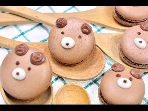 FoodTravelTVChannel - มาการองหมีน้อย Bear Macaron มาการองเป็นขนมที่ ทำวันนี้ อร่อยพรุ่งนี้...