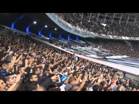 Por vos dejo la vida - Racing 1 - 0 Argentinos - La Guardia Imperial - Racing Club