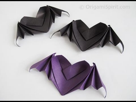 Halloween Tutorial - 011 -- Bat Wings