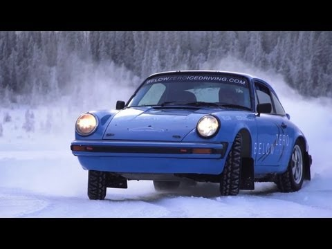 Ice Driving in 911 Rally Cars - CHRIS HARRIS ON CARS
