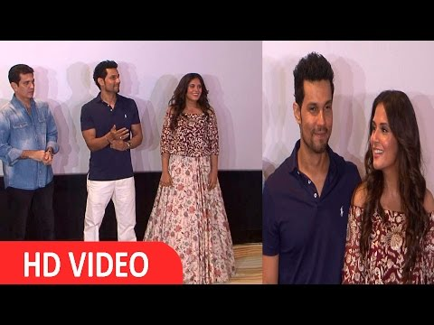 Randeep Hooda & Richa Chadda At Song Launch Of Film Sarabjit UNCUT