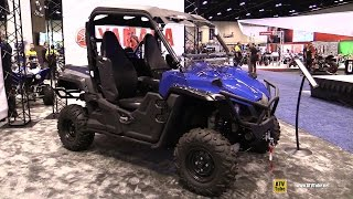 10. 2016 Yamaha Wolverine R Spec EPS Utility ATV - Walkaround - 2015 AIMExpo Orlando