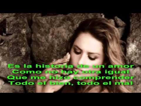 Tekst piosenki Lola Ponce - La Historia De Un Amor po polsku