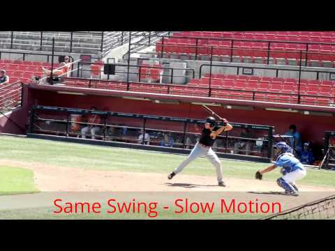 Alex Eliopulos (La Jolla High School 2014) Slow Motion Swing My Edited Video