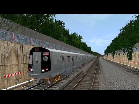 Trainz 12: R160 Siemens (N) Train (Coney Island - Ditmars Blvd) {All Stops} (видео)