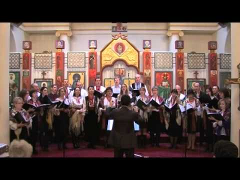 Не плач Рахилe — Chorale Saint Vladimir le Grand, Paris (Щедрiвки, колядки)