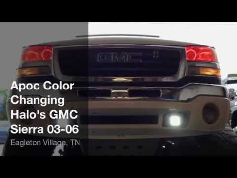 Apoc Led Color Changing Halo's GMC Sierra 03-06