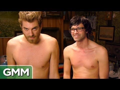 Waxing - Who wants to see some grown men screaming while getting their chests waxed? GMM 353! SUBSCRIBE for daily episodes: http://bit.ly/subrl2 **** PREVIOUS episode...