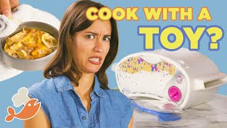 Video Can This Chef Make A 3-Course Meal With An Easy Bake Oven? • Tasty MP3, 3GP, MP4, WEBM, AVI, FLV September 2019