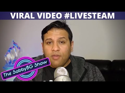 How to make a VIRAL VIDEO on YouTube 🔴 LIVESTREAM | SabbyBG