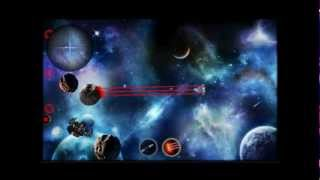 Asteroid Wars YouTube video