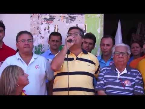 Vídeo mostra recepção calorosa a Flávio Dino na região central do Maranhão