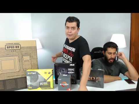 ProtoShow: Ensamblando en vivo PC Gamer económica con Ryzen 1400