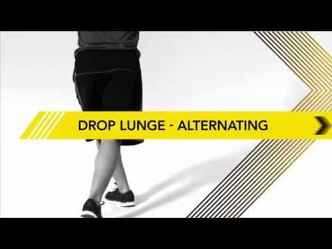 【動的ストレッチ】臀部と股関節の連動を意識しよう!【ドロップランジ】