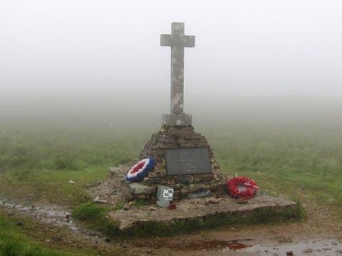 Buckden Pike Polish War Memorial from Buckden round | yorkshire dales  Walks