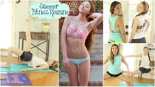 Summer Fitness Routine: Get Bikini Body Confident w/ Blogilates! - YouTube