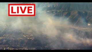 ***WATCH NOW SOUTHERN CALIFORNIA IS ON FIRE*** Aerials Of Thomas, Creek, Skirball Fires