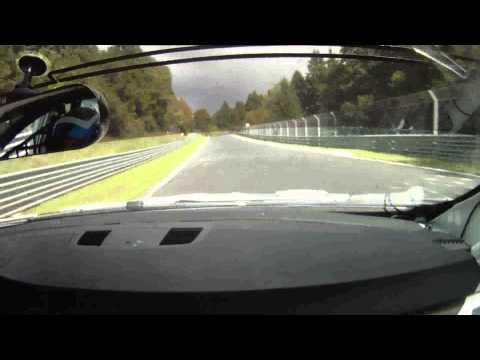 VLN 8 / 2010 BMW 320si WTCC onboard (видео)