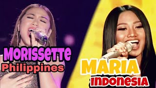 Video Maria & Morissette | NEVER ENOUGH. NOT A BATTLE MP3, 3GP, MP4, WEBM, AVI, FLV Juni 2018