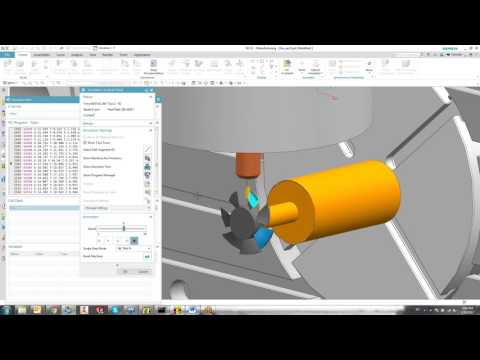 NC simulation with NX (IMS post)