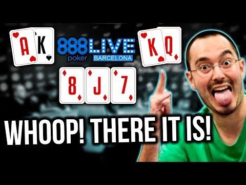 William Kassouf Speech Play Does It Again? 888Live Barcelona Day 1 | 888poker