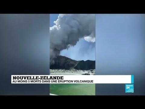 Au moins 5 morts lors de l'éruption d'un volcan en Nouvelle-Zélande