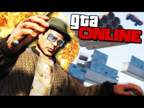 GTA 5 Online (УГАР)  - Убойный DEATHRUN! (видео)