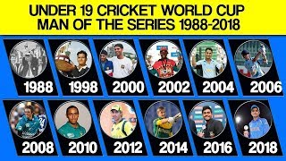 Video Under 19 Cricket World Cup Man Of The Series List From 1988 to 2018 MP3, 3GP, MP4, WEBM, AVI, FLV Oktober 2018