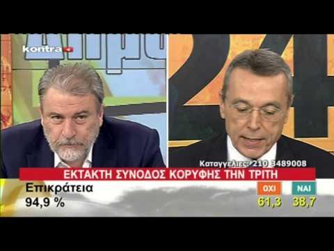 Ο Νότης Μαριάς στο Kontra Channel  για το μεγάλο ΟΧΙ του Ελληνικού λαού στο δημοψήφισμα.