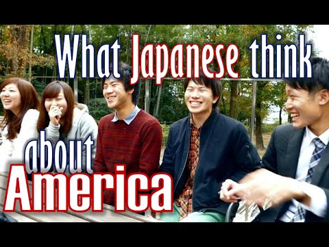 What Japanese think about America