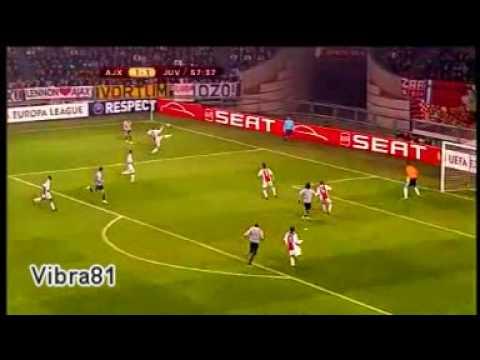 Ajax 1 - 2 Juventus (Copa UEFA, Febrero 2010)