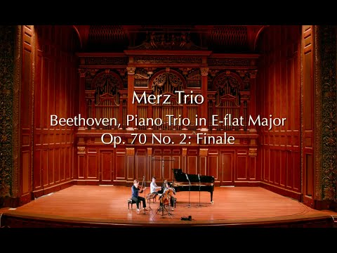 See video  Beethoven Op. 70 No. 2: Finale