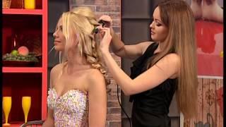 прически для блондинок на свадьбу фото