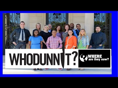 Whodunnit? Where Are They Now?