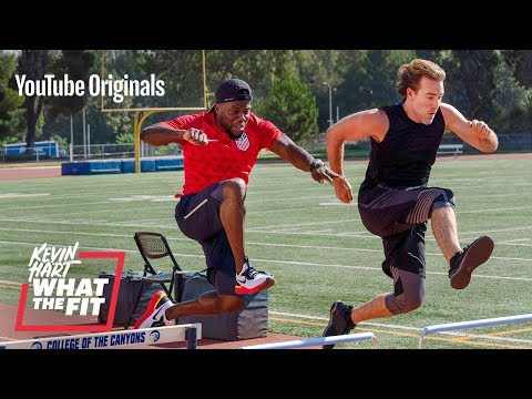 What the Fit with Kevin Hart Track  Field with James Van Der