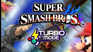 Smash 4 turbo mode mod demonstration