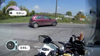 One of the things we all have faced when vlogging is audio quality issues.  I discuss this on this video.  I also came upon a road that had been recently surface dressed or screened with gravel.  Bad enough in a car but downright dangerous on a motorcycle.  I therefore descend into a rant about it for a while.