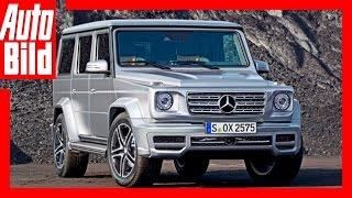 Zukunftsvision: Mercedes G-Klasse (2017) / Der Dino ist zurück! by Auto Bild