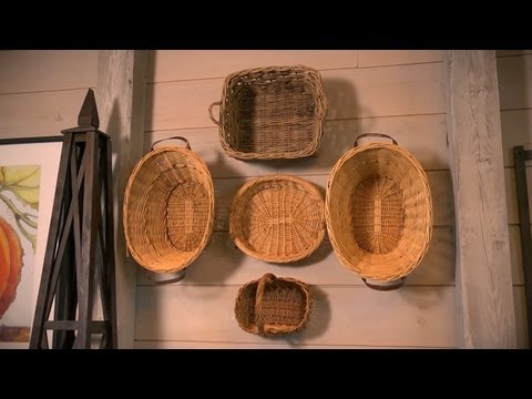 Using Baskets as Decoration