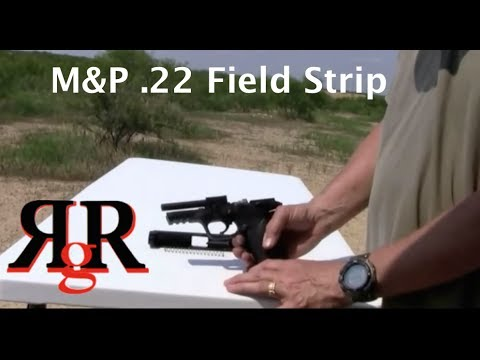 Smith and Wesson M&P 22 Field Strip   Pistol-Review.com