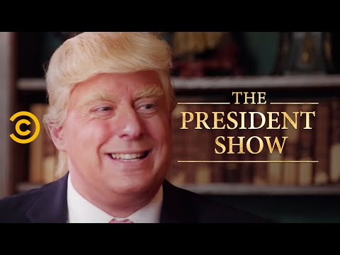 The Presidential Fitness Test - The President Show (видео)
