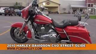 10. 2010 Harley Davidson CVO Street Glide  - Used Motorcycles for sale