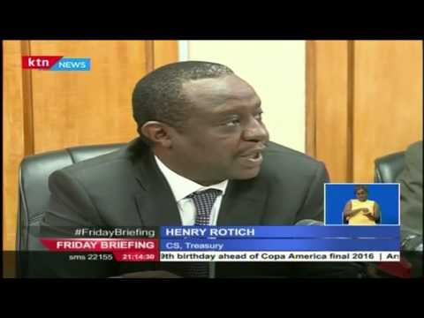 Finance CS, Rotich speaks about Brexit and what it means to Kenyans