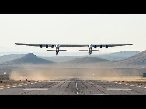 Stratolaunch: Erster Testflug des größten Flugzeugs der W ...