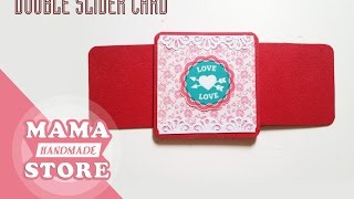 How to make Double Slider Card - Explosion box ideaImage size and materialshttp://www.mediafire.com/view/j4icol95h8lap6v/Untitled-1.jpgNhận làm hộp quà, scrapbook hà nội-- Liên hệ mua hàng --• Hotline: 0987 846 880 hoặc 0967219617 (Zalo)• Email: truemama91@gmail.com• Facebook:www.facebook.com/mama.handmade91Your likes, comments and Share makes us HAPPY :)Subscribe  : https://goo.gl/ufDlwoWatch More video tutorial:https://www.youtube.com/user/truemama91/videosFacebook : https://www.facebook.com/mama.handmade91/