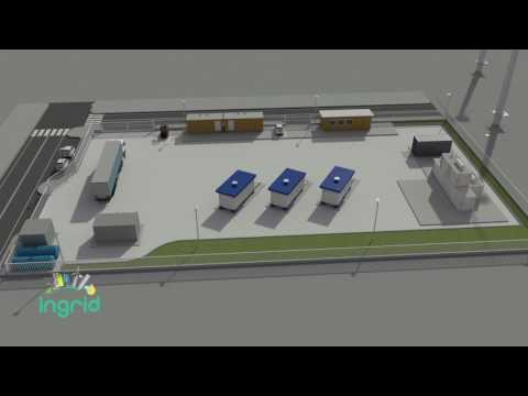 Anteprima del video INGRID, the pilot plant for hydrogen-based energy storage in Troia Municipality (Italy)