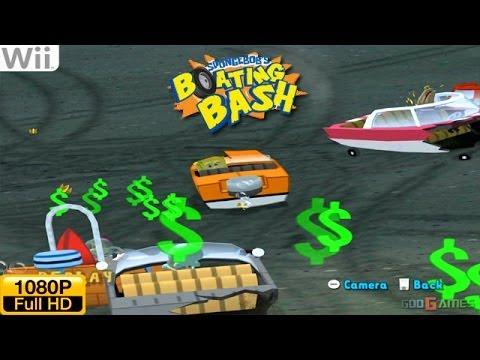SpongeBob's Boating Bash Wii