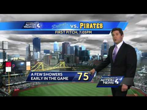 pittsburgh - Meteorologist Steve MacLaughlin has Pittsburgh's Action Weather forecast. Subscribe to WTAE on YouTube now for more: http://bit.ly/1emyOjP Get more Pittsburgh news: http://www.wtae.com/...