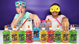 Video ISLA CHEATED!! Blindfolded Slime Challenge MP3, 3GP, MP4, WEBM, AVI, FLV November 2018