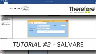 Come salvare un documento in Therefore™